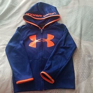Boys Under Armour full zip hoodie